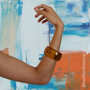 Amber Brown Yellow Bracelet